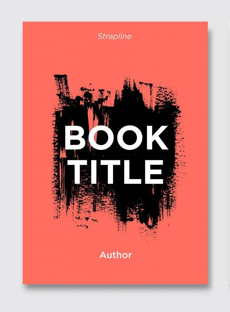 Book cover design A5