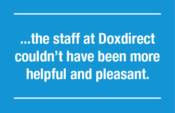 staff at dox quote